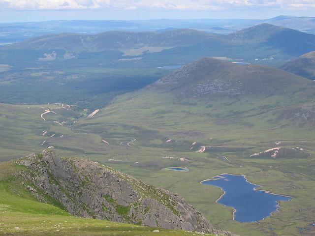 Glen Einich - view north