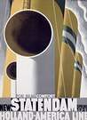 Cassandre. Poster New Statendaam 1929.