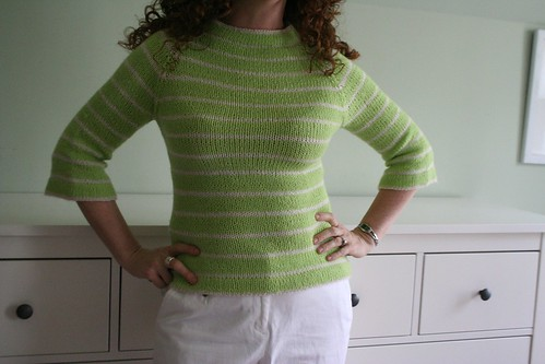 knitted :: Lime Marmalade Skies