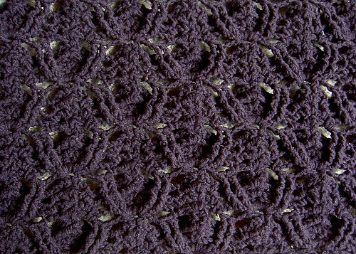 Relief shell stitch