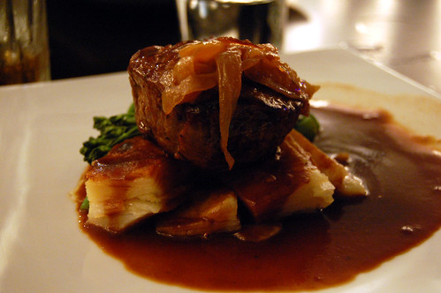 Eye Fillet with Potato Gratin