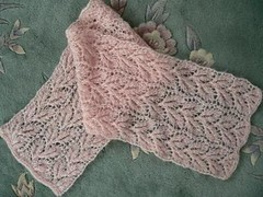 Drooping Elm Lace Scarf