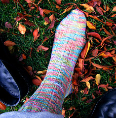 A finished sock