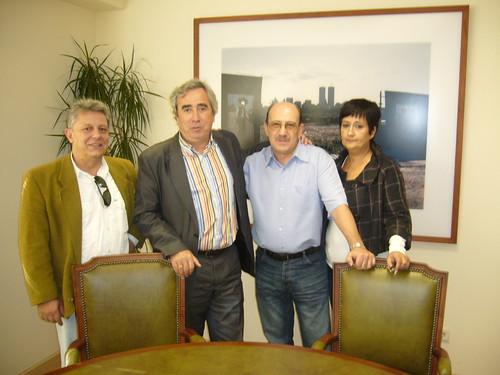 El Alcalde de Alcorcón recibe a ALCORCONSOLIDARIO