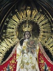 Imagen de Nuestra Señora del Rosario, templo d...
