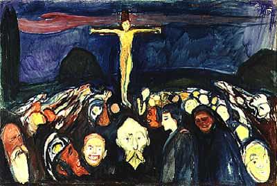Gólgota, de Edward Munch