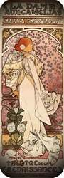 La dama de las camelias 1898. Alphonse Mucha.