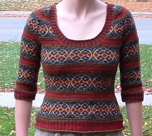 ...as well as the Autumn Rose sweater, its a classic!