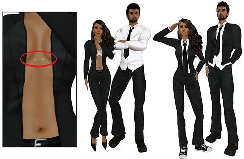 about black suit