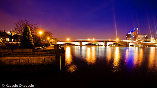 Putney Bridge and Wharf
