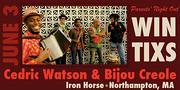 Cedric Watson & Bijou Creole at the Iron Horse