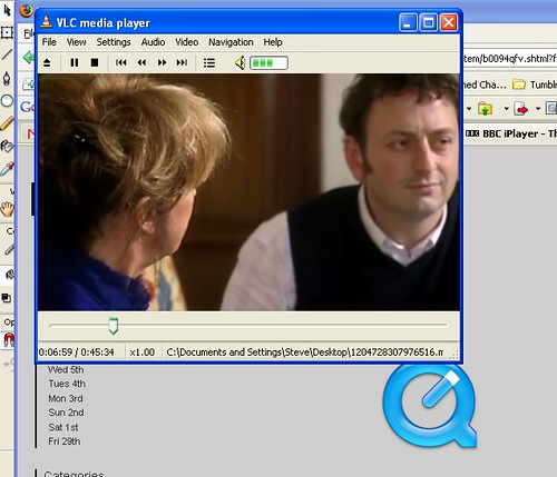 Iplayer content in Mpeg4 streams