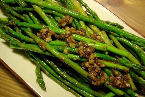 ajwain asparagus