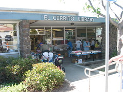 Spring Book Sale, April 2008.