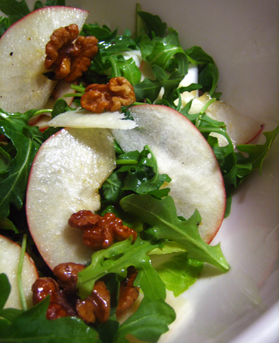 Apple, Arugula, and Endive Salad