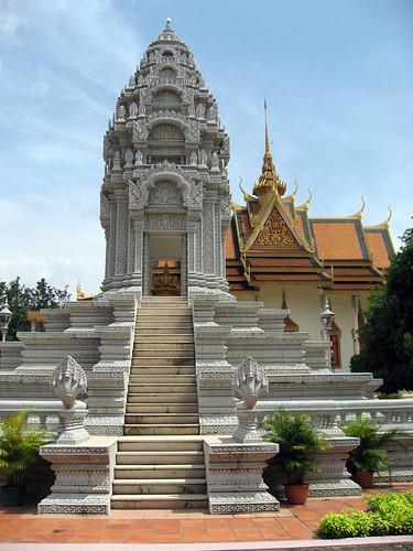 Stupa at Royal Palace