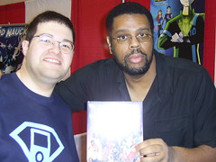 CoolB and Dwayne McDuffie