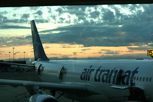 Air Transat Airplane
