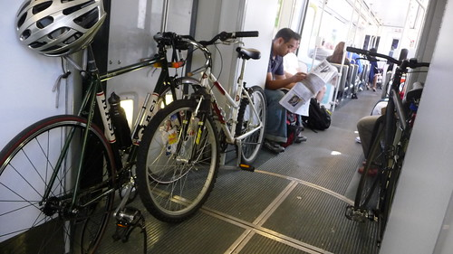 Bikes on the Gold Line