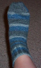 1st sock done