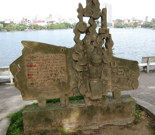 Monument to the capture of John McCain, Hanoi