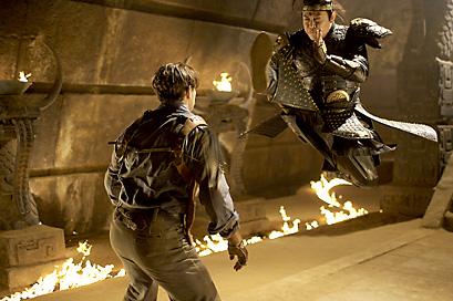 Jet Li x Brendan Fraser - Clique para baixar a foto em alta resolução