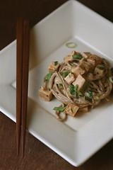 Sticky Tofu Noodles