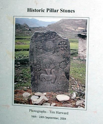 Historic Pillar Stones by Tim Harward
