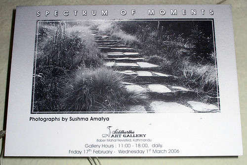 Spectrum of moments by Sushma Amatya