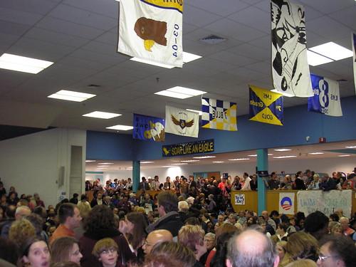Kansas Democratic Caucus at Leawood Middle School