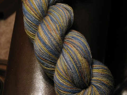 Poseidon BFL sock yarn