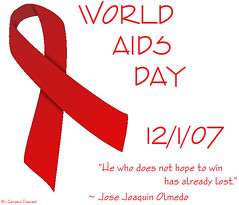 World AIDS Day - 12/1/07