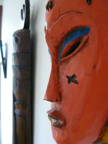 tahitian mask