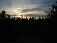 Sunset on Camden Hills