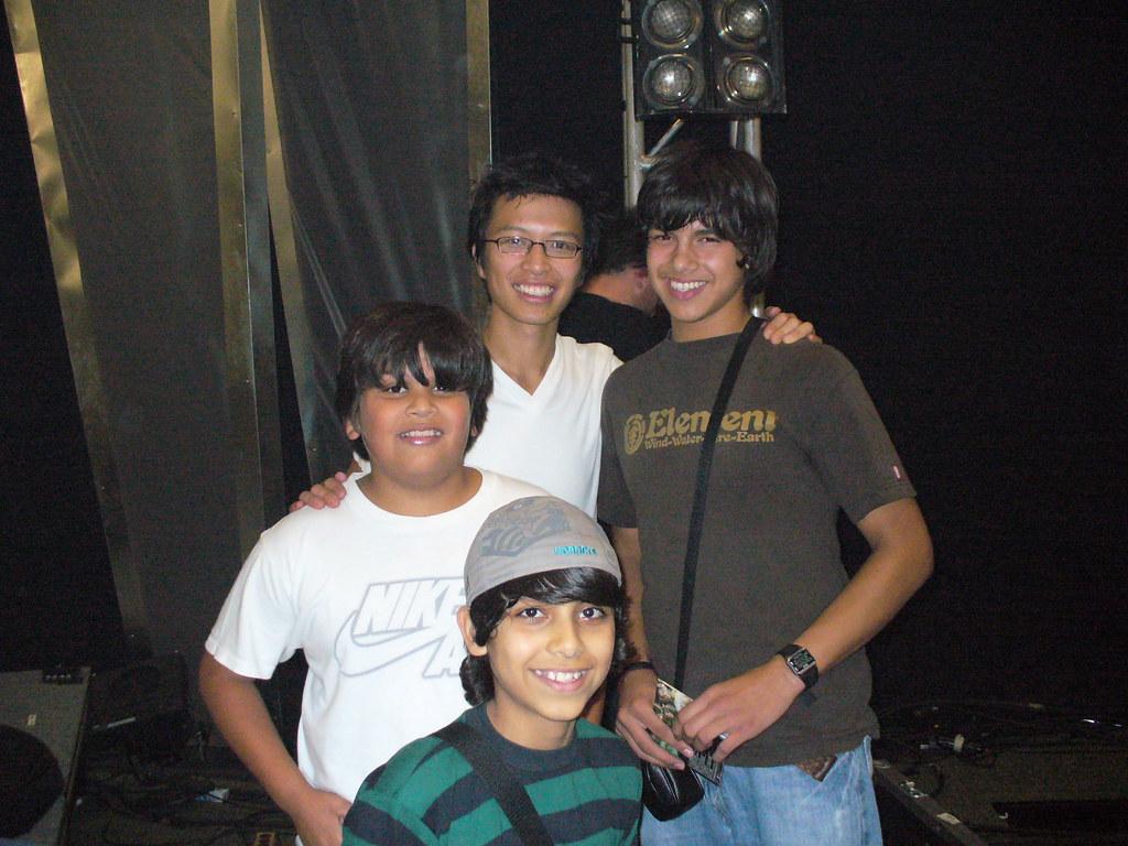 Kevin, Evan, Dustin, Erick