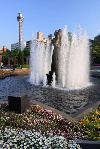 Fountain, Yamashita Park