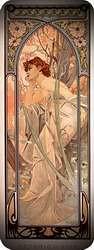 Atardecer 1899. Alphonse Mucha.