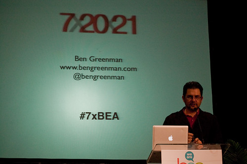 Ben Greenman at BEA 2011