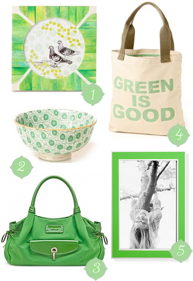 Color Me Monday: Green