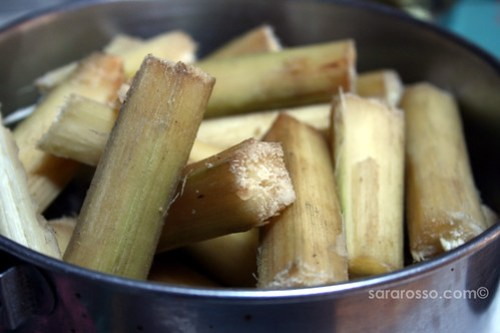 Sugar Cane Ready to Eat in India