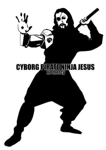 jesus is one bad ass natch