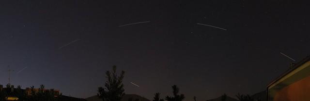 Passaggio ISS e Endeavour