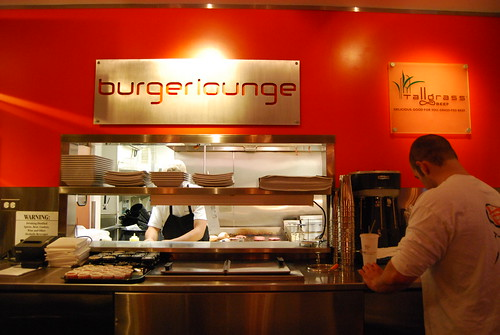 Order counter at Burger Lounge