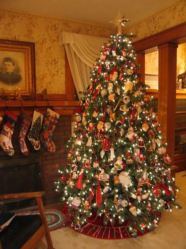 Christmas tree, 2007