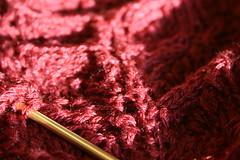 flower basket shawl update