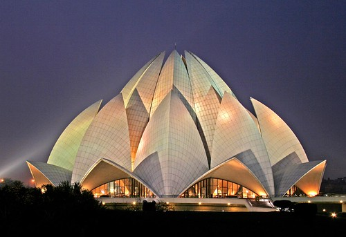 Bahai Lotus temple by jonclark2000.