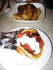 01.26.08 Lunch at Samos - food