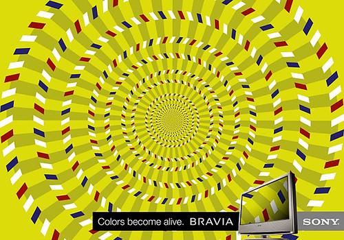 Sony Bravia Color 04 Optical Illusion