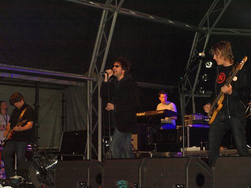 Echo and the Bunnymen play La Laguna in Tenerife