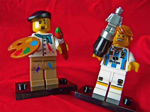 Day 126 … Lego MiniFigures by Echo9er